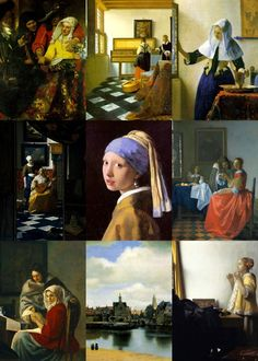 johannes vermeer,   The girl with the pearl Earring