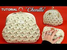 19 Ideas for crochet bag clutch michael kors Crochet Leaf Patterns, Crochet Mittens Free Pattern, Fingerless Gloves Crochet Pattern, Crochet Wallet, Crochet Coin Purse, Crochet Purses, Crochet Bags, Crochet Freetress, Braidless Crochet