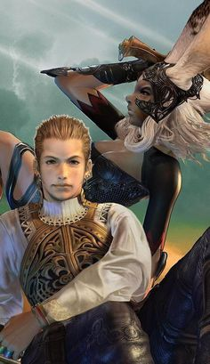 balthier and fran - final fantasy xii