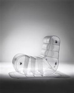 design by Quasar Khanh, inflatable furniture.