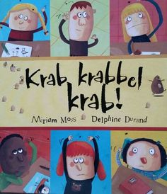 Prentenboek Krab, krabbel, krab!