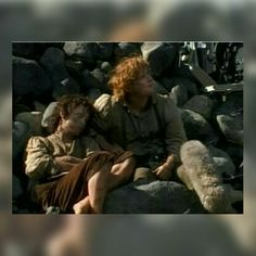 Lotr behind the scenes- Frodo and Sam