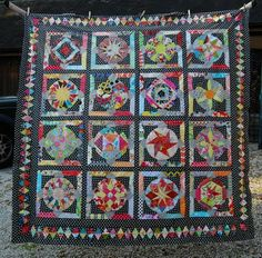 Amitie block of the month by Lily's Quilts