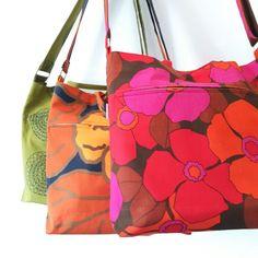 Olkalaukkuja kierrätysmateriaaleista Photography Business, Sewing Ideas, Vera Bradley, Diaper Bag, Gym Bag, Diy Ideas, Purses, Bags, Photography