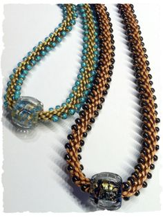 this is a kit … Edge Bead  Routa Bead Necklaces