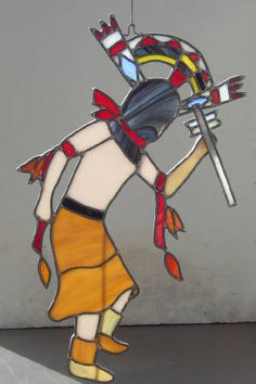 Apache Crown Dancer Kachina is also known as the Mountain Spirit Dancer. He possesses the power to heal
