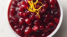 Enjoy this savory cranberry-orange sauce ready with just five ingredients and two steps – the perfect accompaniment to your meats. Christmas Dinner Sides, Christmas Side Dishes, Canned Cranberries, Thanksgiving Recipes, Holiday Recipes, Cranberry Recipes, Fall Recipes, Dinner Recipes