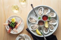 Growing up in the 1960s, Rebecca Charles spent countless hours on Gooch's Beach, in Kennebunk, where her family had vacationed for generations. In 1997, she opened Pearl Oyster Bar, a cozy, narrow joint in Greenwich Village with a menu driven by coastal Maine cuisine. Now, Pearl Kennebunk & Spat Oyster Cellar are open near her old stomping grounds for their first full season together.  📷 Stacey Cramp