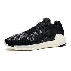 Y-3 Boost QR Black White Best Sneakers, Black Sneakers, Y3 Sneakers d3c602a2483