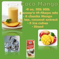 Coco Mango Vi-Shake