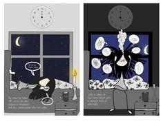 Illustration: © Trine Kvalnes  An illustration about ME/CFS (Chronic fatigue syndrom)  Follow me at: facebook.com/bittelita