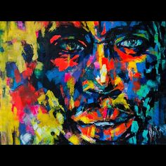 """st. Luchia acrylic , 30 x40"""" www.finemodernart.com"""