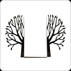 Tree bookends?! Oh, Yes PLEASE!!