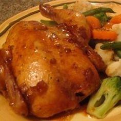 Seasoned Cornish Hens