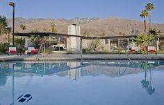 Palm Springs Hotel Room Accommodations and Lodging at the Horizon Hotel