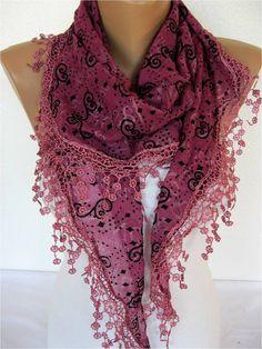 Scarf  Shawl  Elegant Scarf Fashion Scarf  by SmyrnaShop on Etsy, $15.90