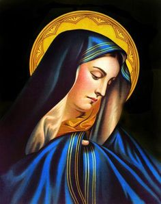 Blessed Mother love the blue! www.youravon.com/marycorso