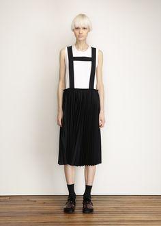 Comme des Garcons COMME Leiderhosen Skirt (Navy)
