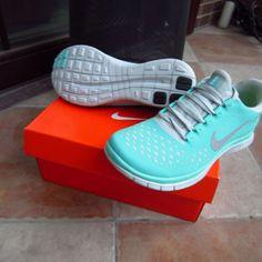 Turquoise Nike Sneakers