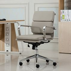 This low-back office chair is designed with modern flair. It's wrapped in leatherette and is constructed with a chrome steel rolling base. It also is fully adjustable and features fixed padded arm rests. lifestyledietmakeover The Lifestyle Diet Makeover is not just another fad diet where... more details available at https://furniture.bestselleroutlets.com/home-office-furniture/home-office-desk-chairs/swivel-chairs/product-review-for-roundhill-furniture-modica-chromel-con