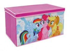 Contenitore in tessuto con coperchio my little pony