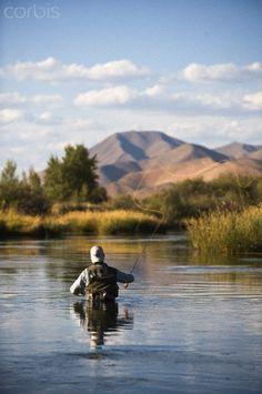 Fly Fishing Silver Creek, Idaho