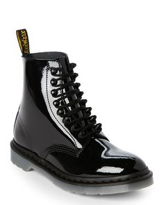 8a629cb5b053 Black Pascal Stud Leather Lace-Up Boots