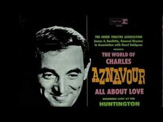 Charles Aznavour - Isabelle (en spectacle à Hollywood, 1965) - YouTube