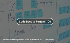 Technical #Management ✏️ Jobs at #Fortune500 Companies https://tapwage.com/channel/code-boss-fortune-100