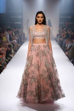 Shehla by Shehla Khan at Lakme Fashion Week 2014 https://www.facebook.com/nikhaarfashions