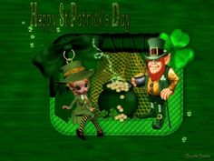 Cute St Patrick's Day Wallpaper | Happy st Patrick s Day Wallpaper (1680x1050)…