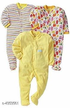 Oneseis & Rompers Fancy Cotton Kid's Rompers (Pack Of 3) Doodle Fancy 100% Cotton Kid's Rompers Combo Country of Origin: India Sizes Available: 0-3 Months, 3-6 Months, 6-9 Months, 9-12 Months, 12-18 Months   Catalog Rating: ★4.3 (4142)  Catalog Name: Doodle Fancy 100% Cotton Kid's Rompers Combo Vol 2 CatalogID_624895 C62-SC1159 Code: 665-4353561-6051