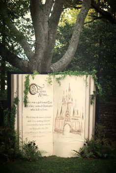 I want to make this book. The theme is once upon a time. YouTube has a video on how to make it
