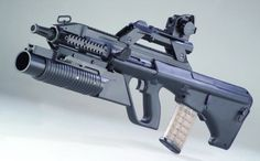 Steyr AUG A3 with grenade launcher