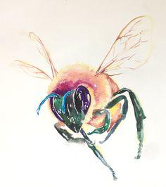 Honey Bees | Lauriedotsondesign's Blog