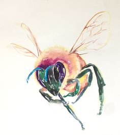 Honey Bees   Lauriedotsondesign's Blog