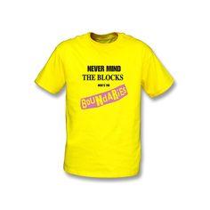 Never Mind The Blocks (Sex Pistols Pastiche) T-shirt