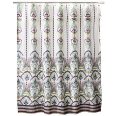 Boho Boutique� Luca Shower Curtain. Maybe use for curtains in the dining room