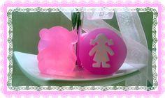 Chaladura de Jabones:Jabones para ofrecer como detalle en  Baby Shower, Bautizos o Comuniones.