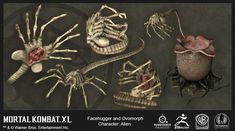 ArtStation - Mortal Kombat X Props and Creatures, Jessie Graybeal