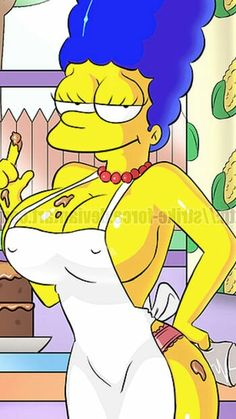 The simpson Marge Hot