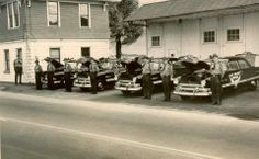 Old picture from when the State Highway Patrol Post was near the old Bay Bridge in Bay View