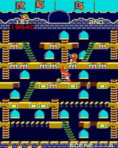 Arcade Game: Mr. Do's Castle (1983 Universal)
