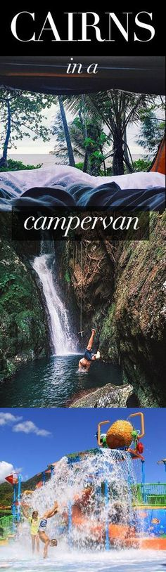 Cairns in a campervan - things to do, best places to stay. Budget travel, Queensland, Australia.