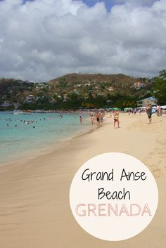 Grand Anse Beach is one of the best spots in Grenada. Click to learn more about this beautiful Caribbean island!