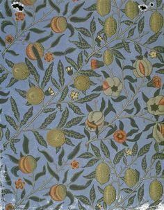 William Morris Pomegranates