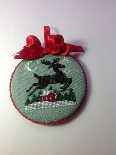 Finished ornament on ebay