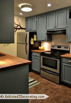 Addicted 2 Decorating » Before & After: My Kitchen, Finally Finished!!