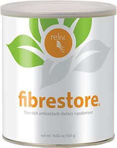 Reliv International - FibRestore Digestive Health Formula  Patented FibRestore fills in the gaps for you with 10 grams of soluble and insoluble fiber per serving. Key antioxidants and a proprietary blend of 21 herbs plus enzymes deliver additional benefits: more energy, a stronger immune system and a better way to face your day.   Proven Effective: Reliv Now® and FibRestore have been shown to help lower risk factors for cardiovascular disease. Click on website to see study.