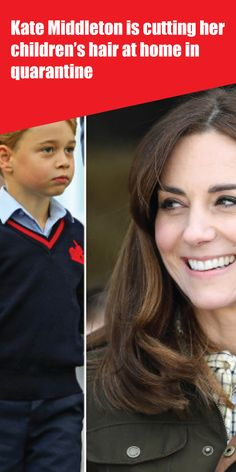 Kate Middleton is cutting her children's hair at home in quarantine Kate Middleton News, Carole Middleton, Meghan Markle News, Katie Piper, Mental Health Campaigns, Royal Family News, Queen Elizabeth Ii, Duchess Of Cambridge, Easy Hairstyles